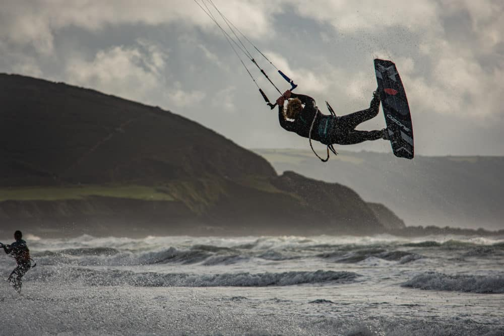 Kitesurf north devon Robin Snuggs