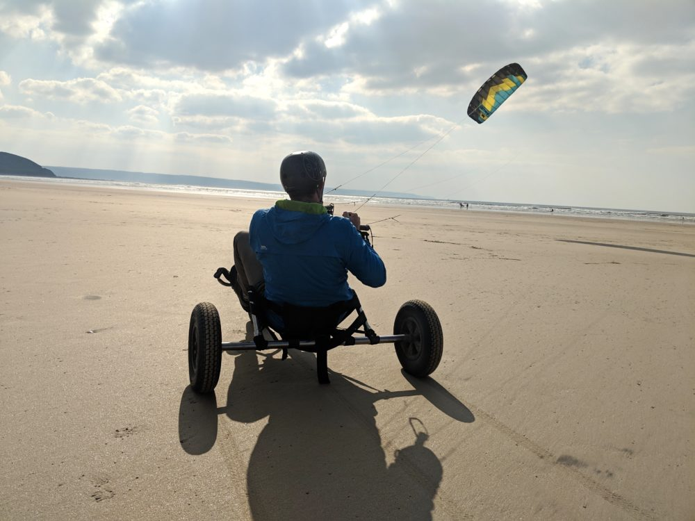 Kite buggy Westward Ho!