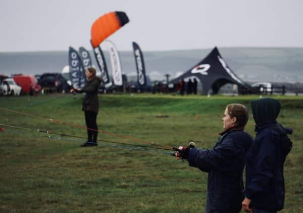 Power Hour - Power kite flying lesson in Westward Ho! North Devon