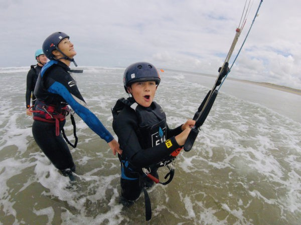 Bodydragging - kitesurfing courses