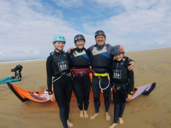 Group Kitesurfing Lessons - Westward Ho