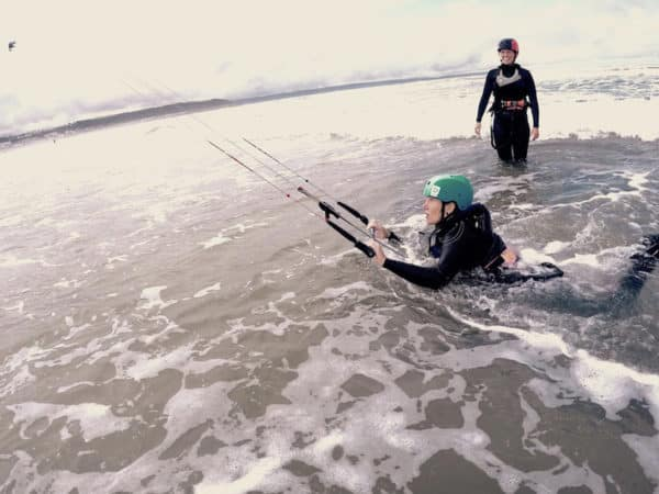 Introduction to Kitesurfing Lesson - Body Drags