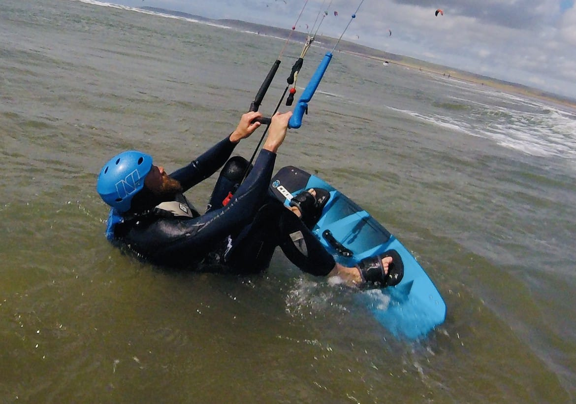 Private Kitesurfing Lessons - Board Starts - Westward Ho!
