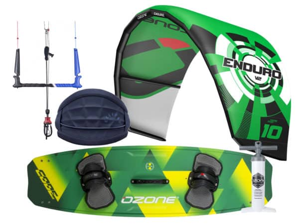 Ozone Enduro V2, Code V2 and Manera Eclipse Kitesurfing Package