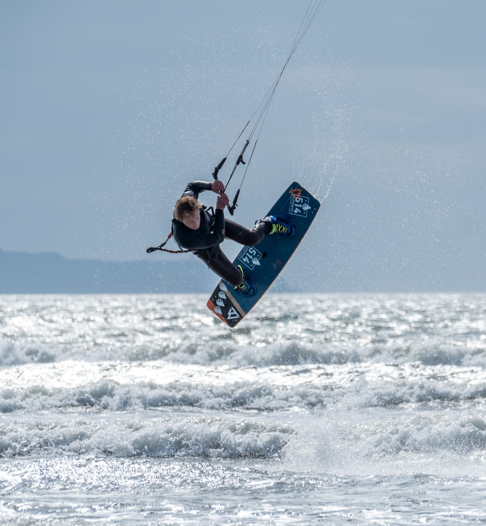 Intermediate and Advanced Kitesurf Coaching Westward Ho!